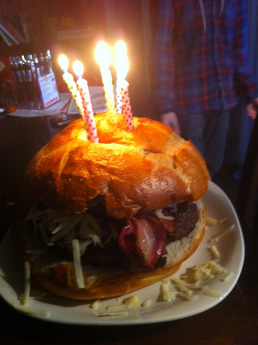 Burger Birthday Cake Pictures