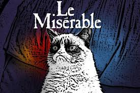 grumpy cat les miserables meme