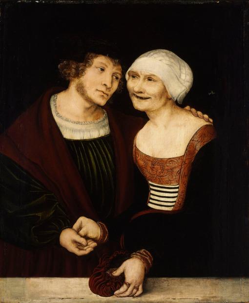 Lucas Cranach Date: Beechwood 37x30.5 cm